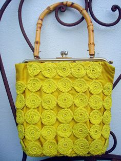 Vintage Lemon Bag by eclectic gipsyland, via Flickr
