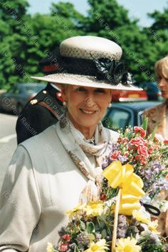 """""""May 1998 HRH Princess Alexandra visits the British Red Cross Offices, Leeds. Photographs (C) History Of Photography, Love Photography, Princess Alexandra, Red Cross, Leeds, Twitter, Photographs, Photos"""
