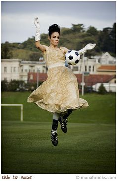 Soccer Ball Prom Dress