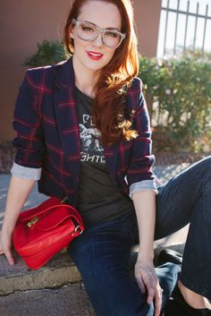 8 Ways to Style a Rock T-Shirt | Babble