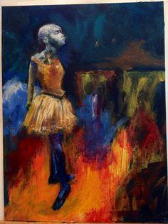 New Moon-New Focus: Be Up-Standing | Pat's Art Full Life