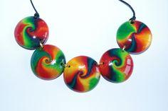 swirls colorés