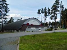 One sport halls Kuortane Sport Resort, Finland.