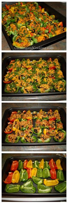 Bell Pepper Chicken Nachos Recipes