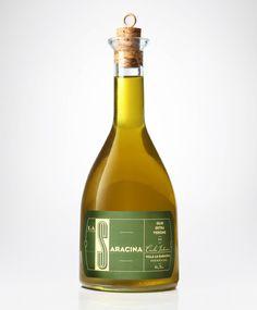 Premium Bottle Design and Bottle Packaging Inspiration Olive Oil Packaging, Bottle Packaging, Food Packaging, Packaging Design, Product Packaging, Italian Olives, Alcohol Bottles, Glass Bottles, Olive Oil Bottles