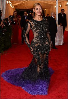 Met Gala Beyonce one of my all time favorite gowns