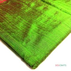 Olive + Rust Two Tone #Dupioni #RawSilk Ask www.desicraftshop.com