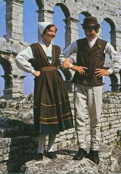 Costumes from Istria