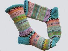 Bunte Socken Farina Gr. 36/37 von Sockenlust auf Etsy