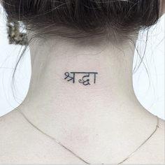 Shraddha ( fé incondicional, inabalável)