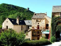 Cantobre, France, where we went for many years when the kids were little, wonderful place, holds many good memories. Toulouse, Languedoc Roussillon, France, Pyrenees, Best Memories, Campsite, Wonderful Places, Cabin, Spaces