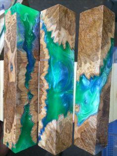 Wood Resin, Resin Art, Stabilized Wood, Pen Blanks, Knife Making, Lathe, Blacksmithing, Epoxy, Woodworking Projects