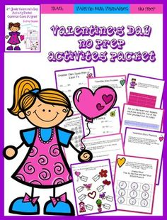 valentine's day decimal worksheets