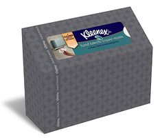 Kleenex Hand Towels - We use these for camping.  Much better than taking a roll of paper towels or napkins.