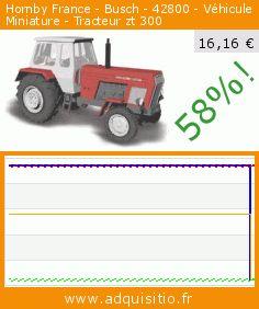 Hornby France - Busch - 42800 - Véhicule Miniature - Tracteur zt 300 (Jouet). Réduction de 58%! Prix actuel 16,16 €, l'ancien prix était de 38,42 €. https://www.adquisitio.fr/busch/hornby-france-42800