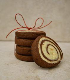 Virtually Homemade: Chocolate Orange Pinwheel Cookies