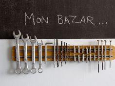 Rangements brico / récup malins (tutoriel disponible en lien sur mon blog)