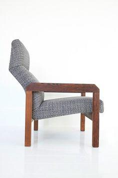A Martin Visser SZ72 Lounge Chair for Spectrum (Dutch Modernism - Wenge)
