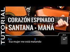La canción más fácil para tocar CORAZÓN ESPINADO en guitarra acústica principiantes guitarraviva - YouTube