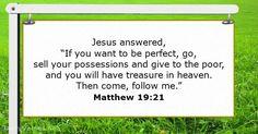 Matthew 19:21 - dailyverses.net