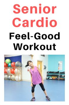 Senior Low Impact Cardio - Get moving and feel good with this low intensity cardio workout for seniors Imágenes efectivas que - Fun Workouts, At Home Workouts, Low Intensity Cardio, Beginners Cardio, Cardio Training, Fitness Workout For Women, Senior Fitness, Weight Loss Challenge, Excercise