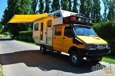 Iveco Daily 40-10 4x4 Diy Camper, Truck Camper, Camper Van, Camper Ideas, Iveco 4x4, Iveco Daily 4x4, Best Campervan, Defender Camper, Overland Trailer
