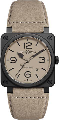 7307cd884a1e Montres Bell   Ross BR Desert Type - Militaire dans l âme