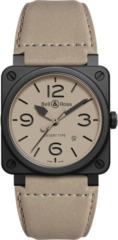 The Watch Quote: Bell & Ross BR Desert watches Type - Military in the soul
