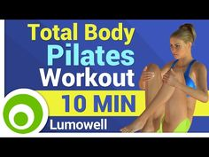 YouTube Lumowell pilates workout