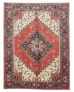 Unique character of Persian rugs with the quality that matures with age, make this beuatiful rug a perfect choice for any home. - Hand knotted quality and fine Persian Wool. - Classic Persian Design.