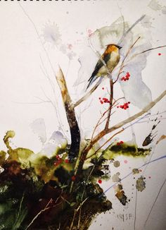 Stan Fellows, sketchbook, paintings, instruction.
