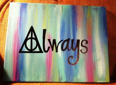 Always, Harry Potter Painting