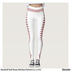 Baseball ball Seam Stitches Pattern