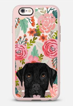 Black Lab cute labrador retriever pet portrait dog gifts custom dog person must have cell phone transparent case iPhone 6s case by Pet Friendly | Casetify