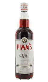 Pimms #1 Liqueur -- with lemon soda (preferably Lorina French sparkling lemonade), my all-time fave summer drink