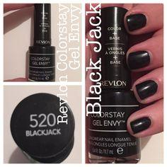 Blackjack - Revlon Colorstay Gel Envy