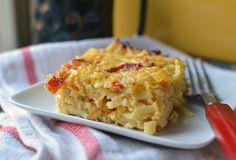 Cheesy Potato Breakfast Casserole with Cheddar and Sun-Dried Tomatoes ...