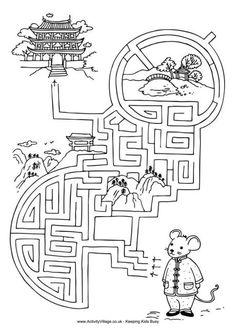 Chinese New Year maze