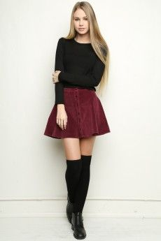 How to wear fall fashion outfits with casual style trends Skirt Outfits, Winter Outfits, Casual Outfits, Cute Outfits, Skirt Fashion, Fashion Outfits, Womens Fashion, Fashion Tips, Fashion Trends