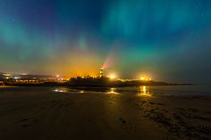 Shrove Lighthouse Aurora by Michael Gill on 500px