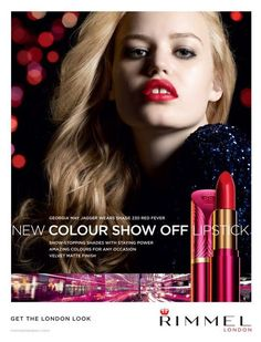 You are interested in Georgia May Jagger for Rimmel - Ad Campaign? Fashion ads, pictures, prints and advertising with Georgia May Jagger for Rimmel - Ad Campaign can be found here. Rimmel Makeup, Rimmel Lipstick, Makeup Advertisement, Makeup Ads, Georgia May Jagger, Velvet Color, Velvet Matte, Lily Donaldson, London Look
