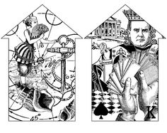 Houses: Cards & Sea
