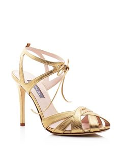 SJP by Sarah Jessica Parker Keating Metallic Sandals - 100% Bloomingdale's Exclusive