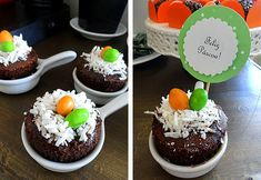 Brunch de Pascoa Cupcake Ninho