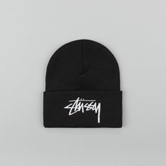 6b04f019e15 A comfortable everyday beanie with the awesome Stussy logo loud and proud  on the front.