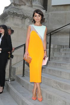 Miroslava Duma @ Paris Fashion Week - Giambattista Valli runaway show