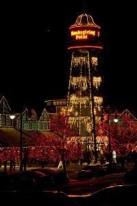 Holiday Lights at Thanksgiving Point in Lehi.