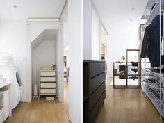 Muji storage spaces