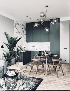 minimalist but luxurious kitchen design 20 Luxury Kitchen Design, Luxury Kitchens, Interior Design Kitchen, Modern Interior Design, Apartment Interior Design, Küchen Design, Interiores Design, Cheap Home Decor, Living Room Designs
