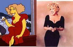 Simpsons Celebrity: Bette Midler